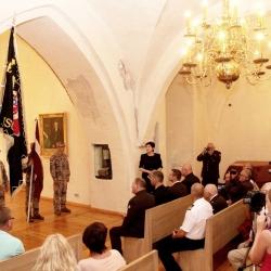 2. Ventspils kājnieku pulka karoga iesvēte