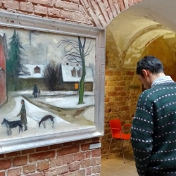 Birutas Baumanes gleznu izstāde