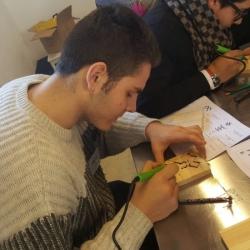 Itāļi apmeklē radošās darbnīcas