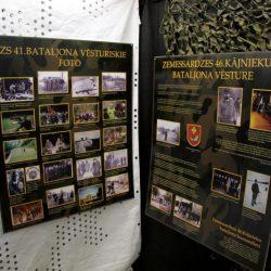 """Izstādes """"Zemessardzes 46.kājnieku bataljons"""" atklāšana Piejūras brīvdabas muzejs"""