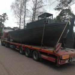 Laivas dodas uz restaurāciju
