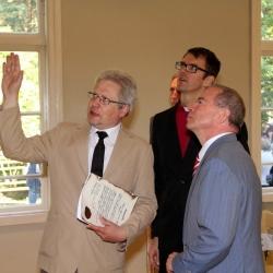 Lielirbes baptistu baznīcas atklāšana