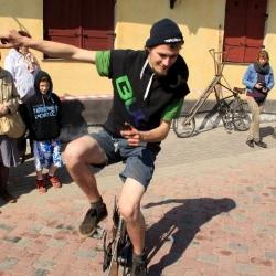 """Mākslas dienu akcija """"Atklāj velosipēdu!"""""""