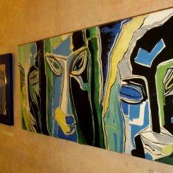 R. Piņņa gleznu izstāde