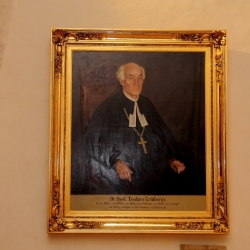 T. Grīnberga portreta atklāšana