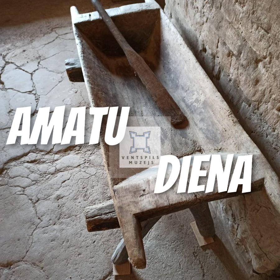 Ventspils muzejs aicina amatniekus uz AMATU DIENAS TIRDZIŅU
