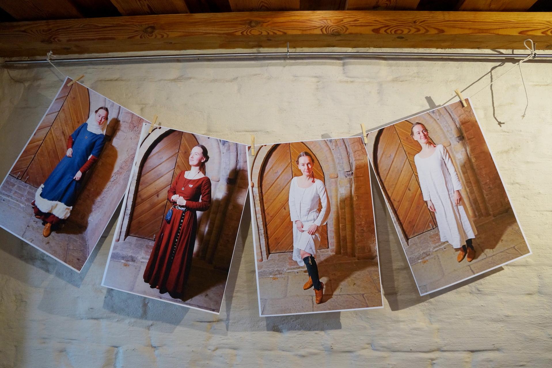 Kā ģērbās viduslaikos