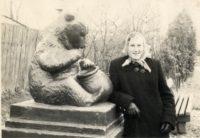 Dzidra pētersone - pastniece. 1960-tie g.