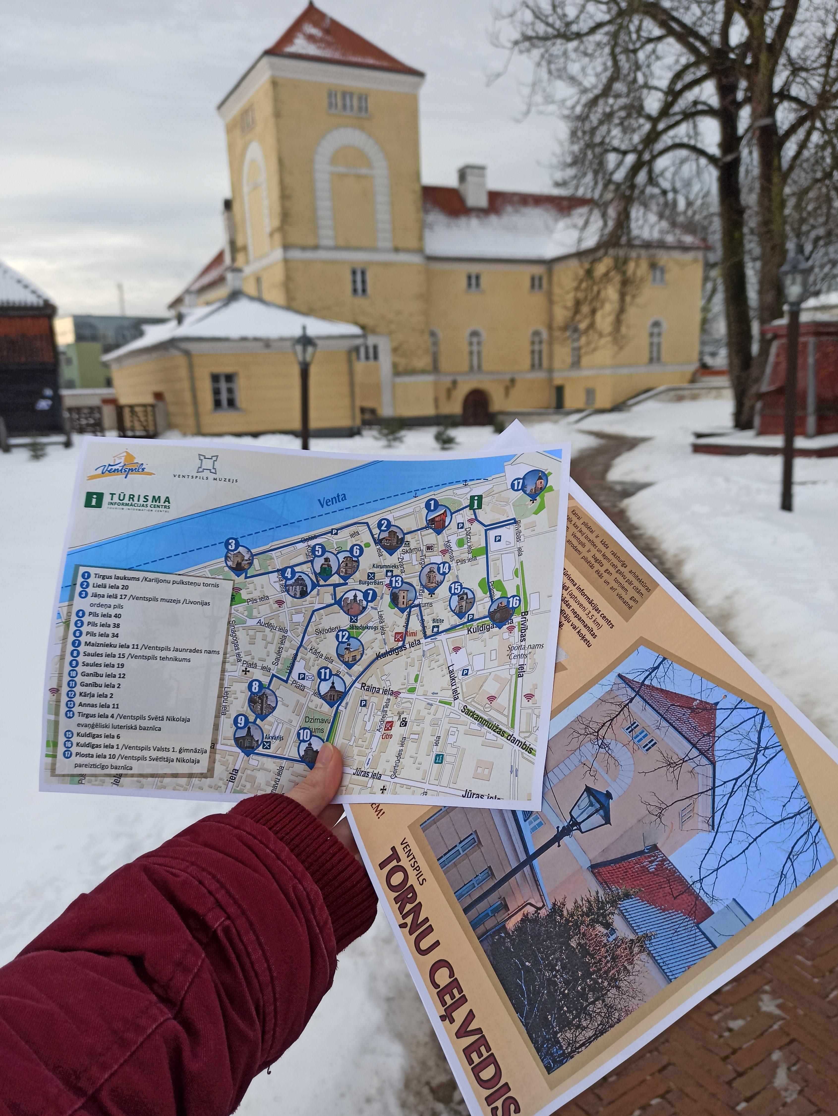 Jauns Ventspils pastaigu ceļvedis