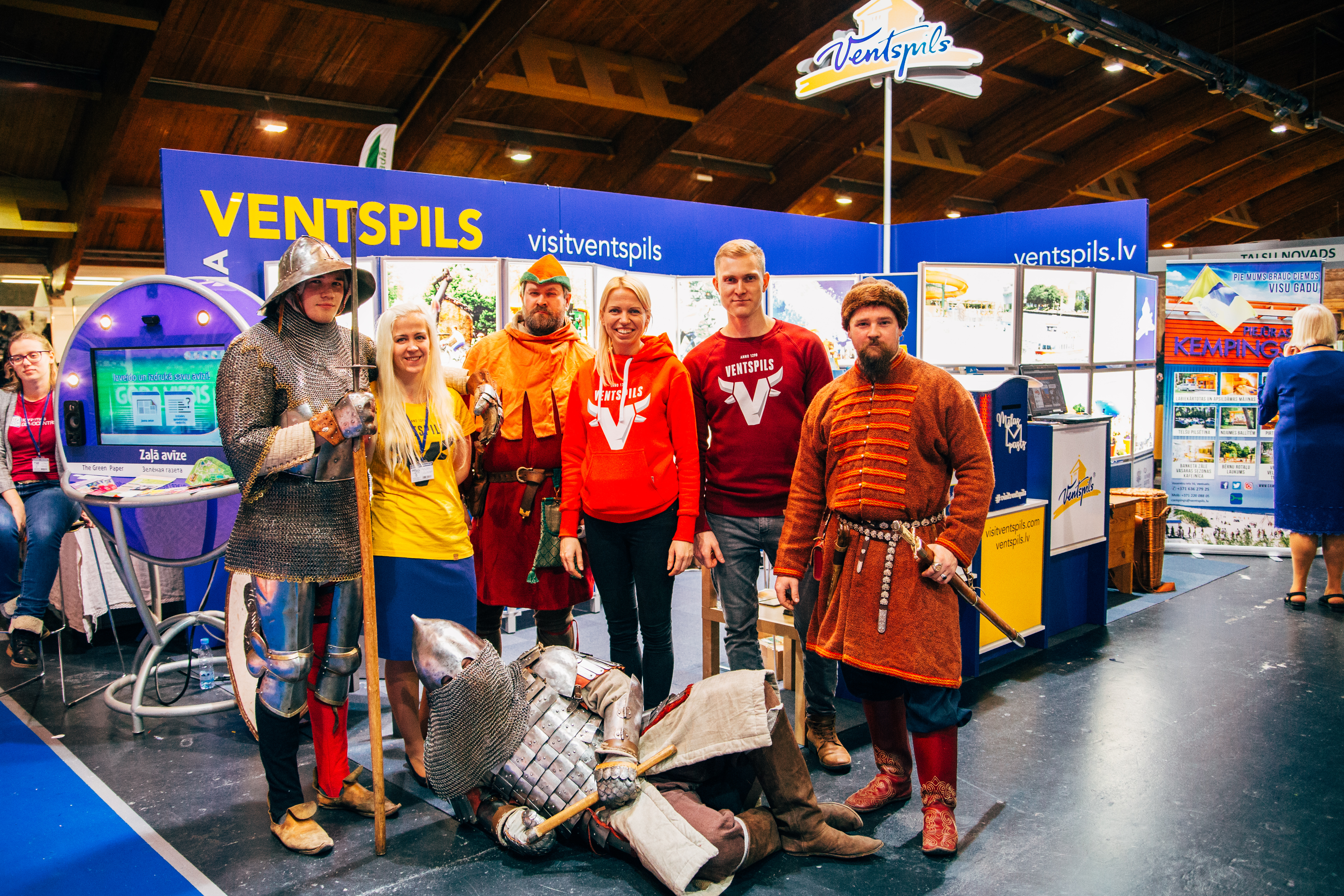 Ventspils muzejs starptautiskajā tūrisma izstādē Baltour 2018