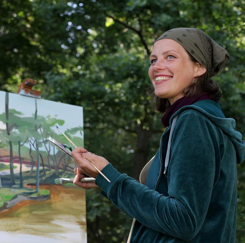 Ventspils muzeja glezniecības plenērā 2021'piedalās: Maruta Eistere