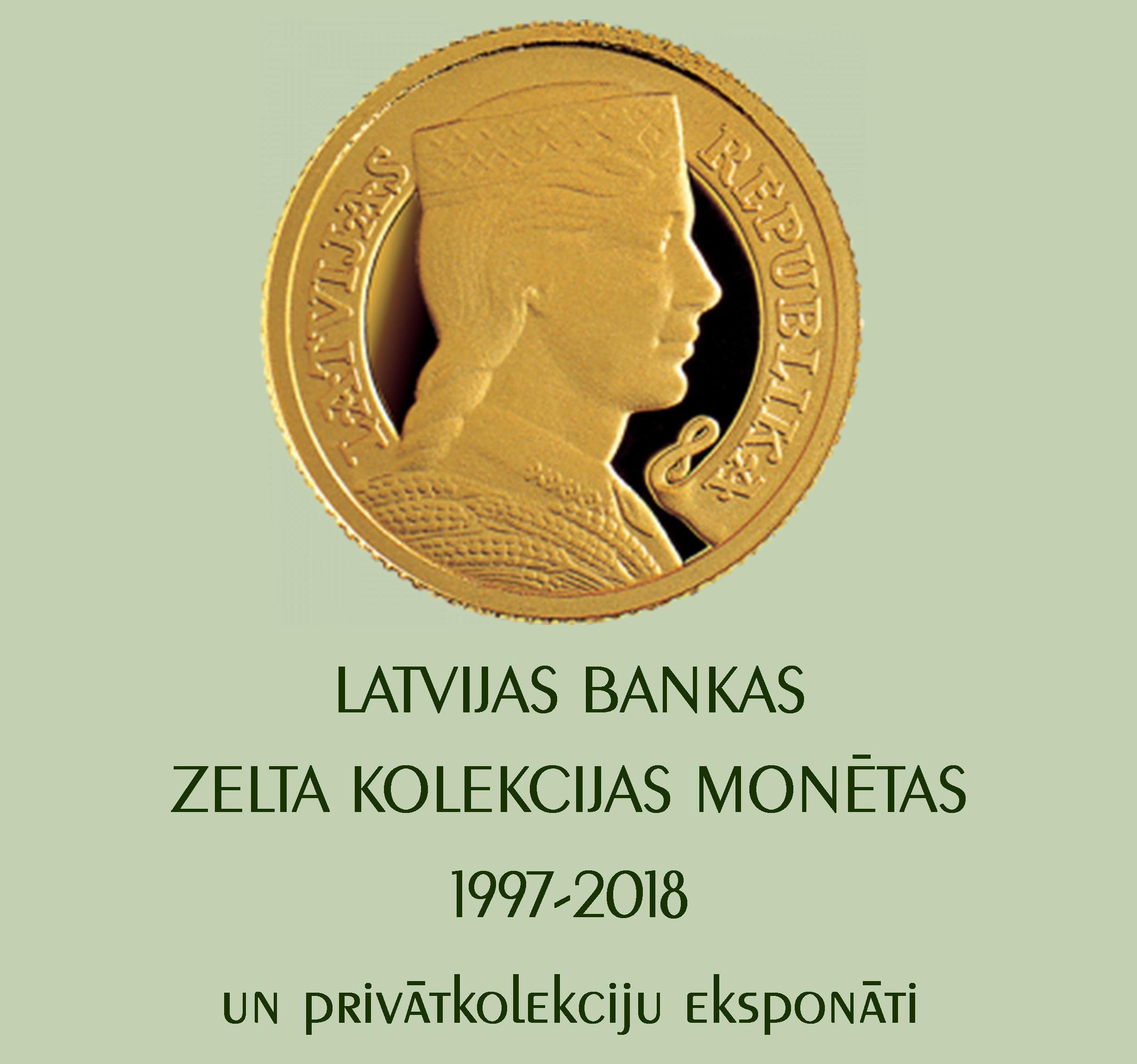 Zelta monētas ar latvisku identitāti