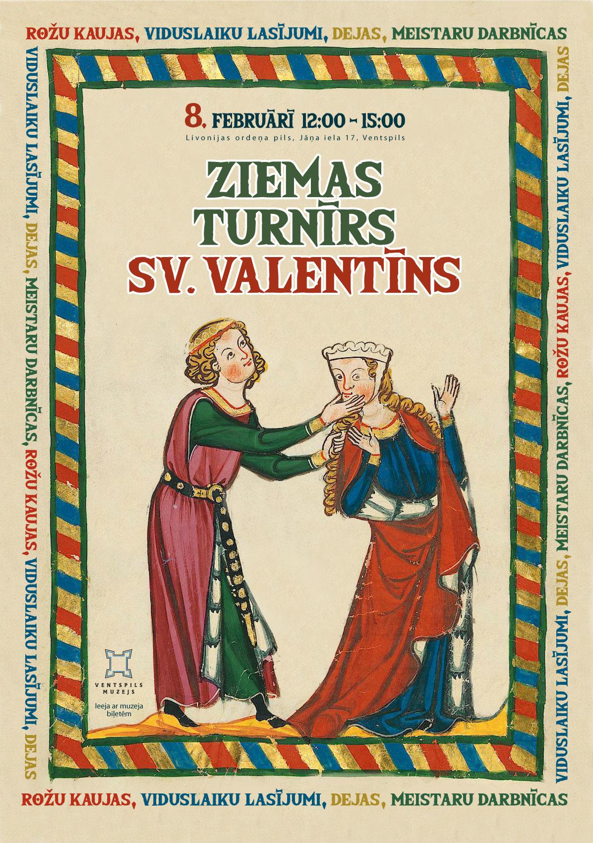Ziemas turnīrs Sv. Valentīns 8. februārī