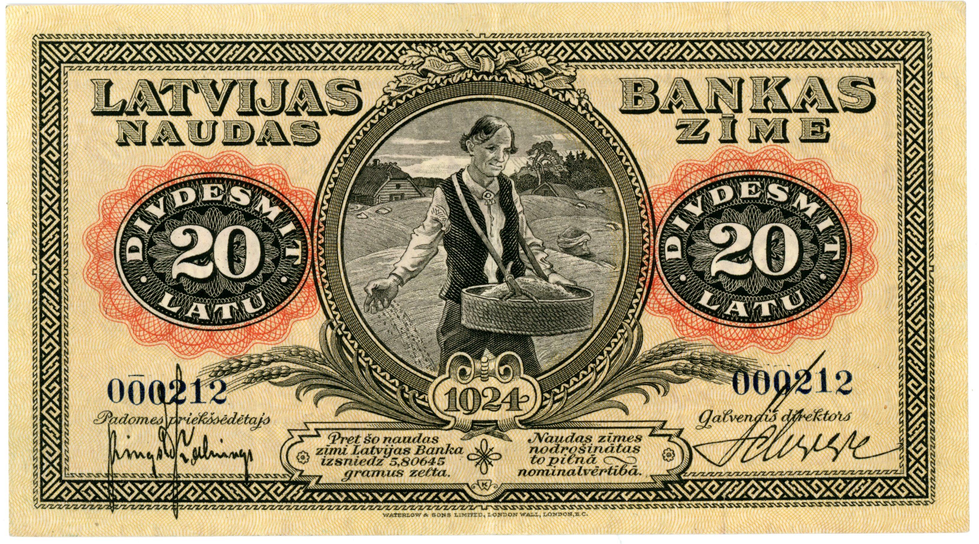 """Ventspils muzeja jaunieguvumi. """"Sējējs"""" – kādas banknotes stāsts"""