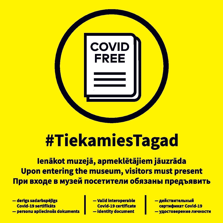 No 11. oktobra Ventspils muzeja struktūrvienību pakalpojumi klātienē būs pieejami tikai ar Covid-19 vakcinācijas vai pārslimošanas sertifikātu