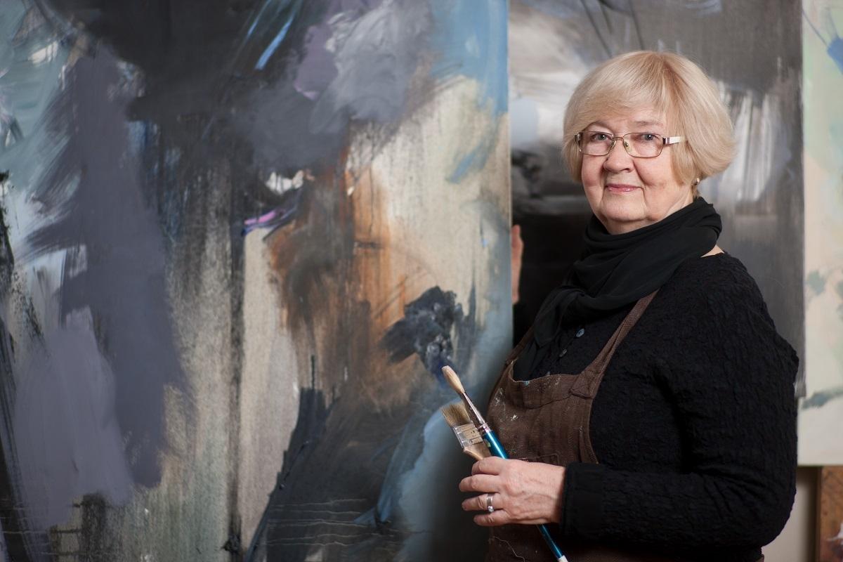 Ventspils muzeja glezniecības plenērā 2021'piedalās: māksliniece Anita Meldere