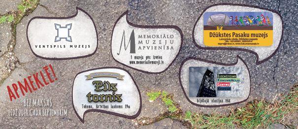 """Ventspils muzejs iesaistās dzejas dienu akcijā """"Sirds uz perona"""""""