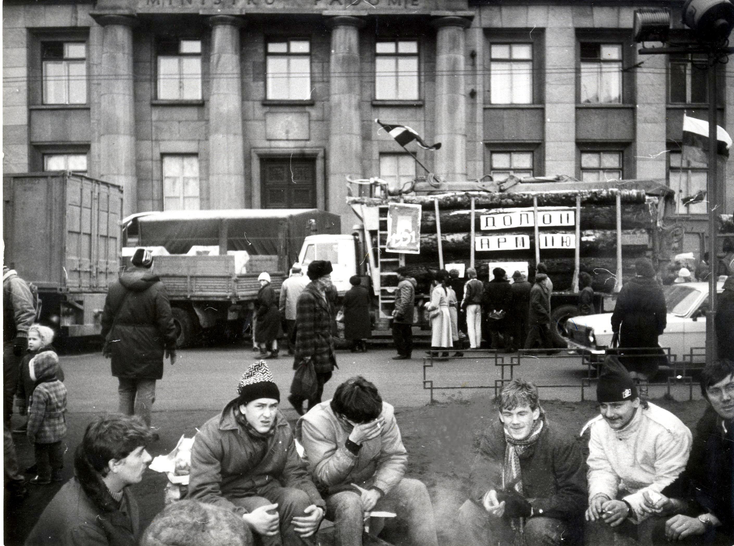 """Vēstures otrdienā: Ventspils muzeja Vēstures nodaļas vadītājas Stellas Lindenbergas atmiņās """"Barikādēm – 30"""""""
